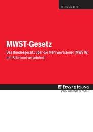 Das Bundesgesetz über die Mehrwertsteuer (MWSTG) - Schweiz