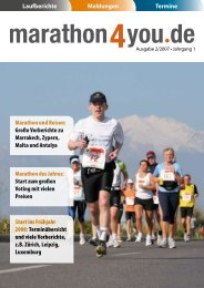 Ausgabe 2/2007 - Marathon4you.de