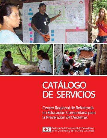 Catalogo_de_Servicio CRREC en Educacion Comunitaria para la ...