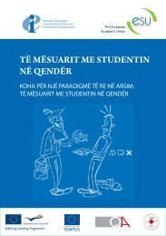 Student-Centred Learning - WUS Austria