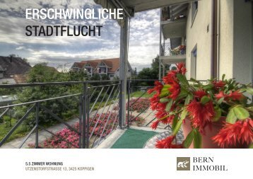 Dokumentation zum Objekt als PDF-Dokument ... - Bern Immobil AG