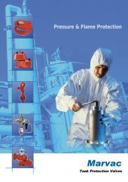 Marvac Technical Catalogue - Safety Systems UK Ltd