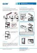 EM-350 series Midi Electromagnetic Lock - GEM,Gianni Industries, Inc. - Page 2