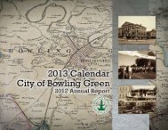 Annual Report (2012) - City of Bowling Green, KY