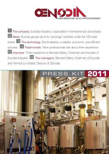 Oenodia Press Kit - Wine Industry Network
