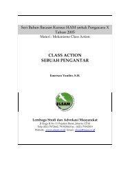 CLASS ACTION SEBUAH PENGANTAR - Elsam