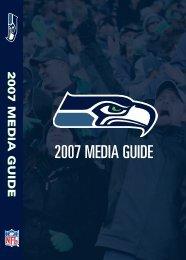 2007 MEDIA GUIDE - Seahawks Online Media Packet