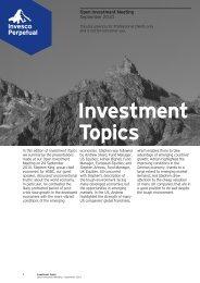 Investment Topics - Invesco Perpetual