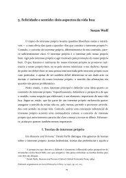 5. Felicidade e sentido: dois aspectos da vida ... - Desidério Murcho