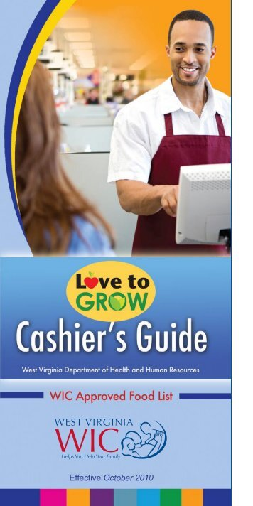 WIC Cashier Responsibilities - West Virginia WIC