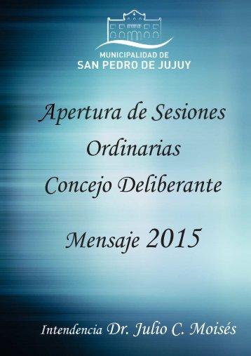 DISCURSOAPERTURASESIONES2015
