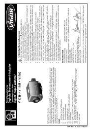 Digitaler Drehmoment-Adapter Operating ... - Amtool.com.ua