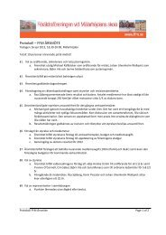 Protokoll Årsmöte 2013 - Föräldraföreningen vid Mälarhöjdens skola