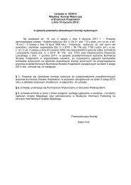 Uchwała nr 10/2012 Miejskiej Komisji Wyborczej w Strzelcach ...