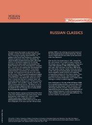 Russian Classics - International Film Festival of India