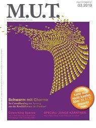 Die aktuelle Ausgabe herunterladen. - MUT Magazin