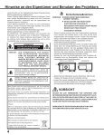 Bedienungsanleitung - Eiki - Page 4