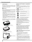 Bedienungsanleitung - Eiki - Page 6