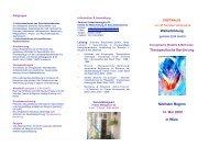 Weiterbildung Therapeutische Berührung Nächster Beginn 14. Mai ...