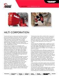 HILTI CORPORATION - AMAG