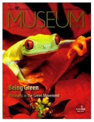 'It's Easy Being Green: Museums and the Green Movement'