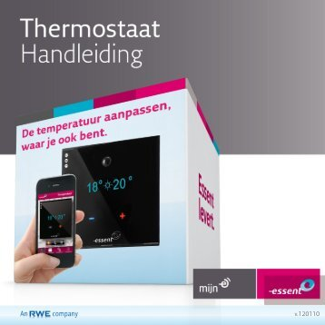Handleiding E-thermostaat - ICY