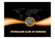 PETROLEUM CLUB OF ROMANIA - petroleumclub.ro