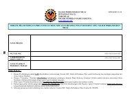 Borang Pra Rundingan - Majlis Perbandaran Nilai