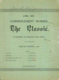 June 1897 - Northwestern College