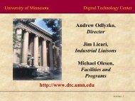 pdf (1.31 MB) - The Digital Technology Center - University of ...