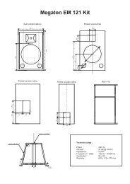 Megaton EM 121 Kit - Prodance