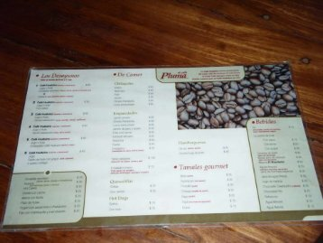 View Café Huatulco menu (PDF file)