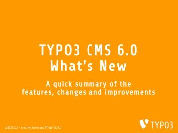 20121122-TYPO3-6.0-Whats-New
