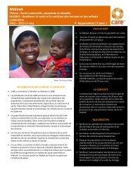 Malawi - CARE Canada