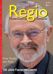 100 Jahre Fasnachts-Comité - Regio aktuell