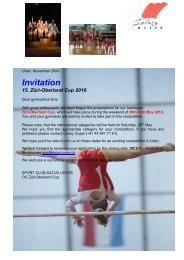 Invitation 15. Züri-Oberland Cup 2010 - Satus Uster