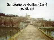 Syndrome de Guillain Barré à rechute