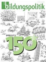 Nr. 150 /151, August 2007 - vpod-bildungspolitik