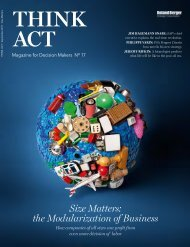 think: act magazine No. 17 - Size Matters - Roland Berger