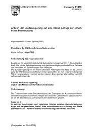 Drs. 6/1435 - SPD Landtagsfraktion Sachsen-Anhalt