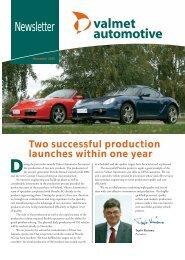 November 2005 - Valmet Automotive