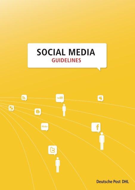 Social Media Guidelines - Deutsche Post DHL