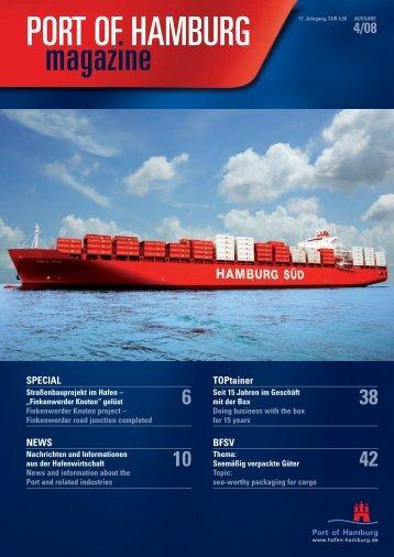 PORT OF HAMBURG magazine - Hafen Hamburg