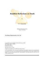 Buddhist Reflections on Death - Urban Dharma