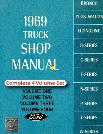 DEMO - 1969 Ford Truck Shop Manual - ForelPublishing.com