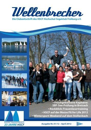 Nr. 1/2012 (PDF) - Hochschul-Segelclub Freiburg