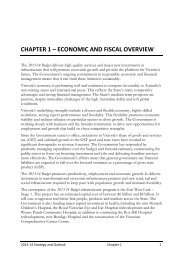 Chapter 1: Economic and fiscal overview (PDF 249kb)