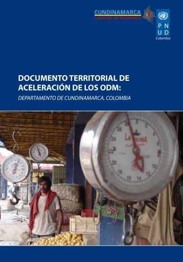 documento territorial de aceleración de los odm - Programa de las ...