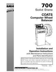 Coats 700 Solid State Wheel Balancer - NY Tech Supply