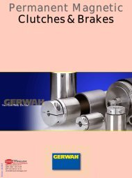 GERWAH - Permanent Magnetic Clutches & Brakes